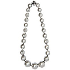 Phase Eight - Pewter lizzie necklace