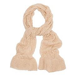 Phase Eight - Almond polly pointelle scarf