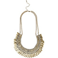 Phase Eight - Antique Gold myra necklace