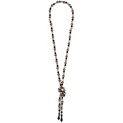 Phase Eight - Black lana knot necklace