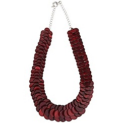 Phase Eight - Raspberry cali necklace
