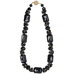 Phase Eight - Black isla necklace