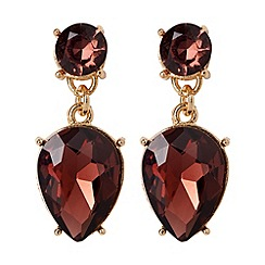 Phase Eight - Raspberry cari earrings