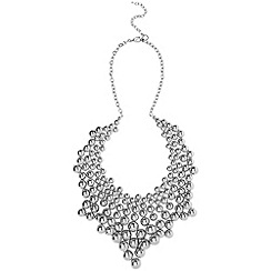 Phase Eight - Pewter bo necklace
