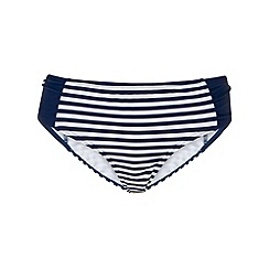 Phase Eight - Navy and white stripe bikini bottoms