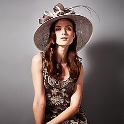 Phase Eight - Praline and cream leona hat