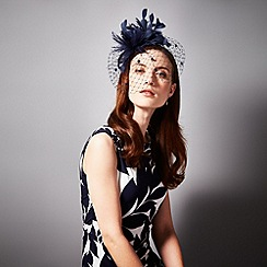 Phase Eight - Navy tilly fascinator