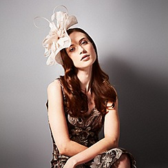 Phase Eight - Champagne althea fascinator