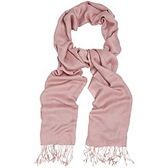 Phase Eight - Confetti Pink diamond weave pashmina