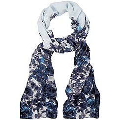 Phase Eight - Pale Blue anju print scarf