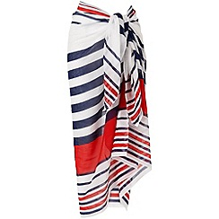 Phase Eight - Multi-coloured stripe sarong