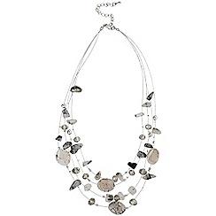 Phase Eight - Slate ariana illusion necklace