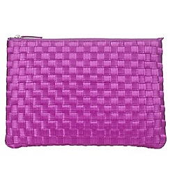 Phase Eight - Annabel weave clutch
