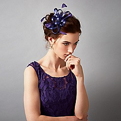Phase Eight - Violet jewel hair piece
