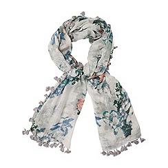 Phase Eight - Lori pom pom scarf