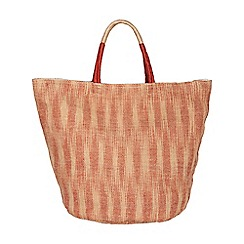 Phase Eight - Suzie Ikat Jute Beach Bag