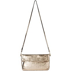 Phase Eight - Adele metallic clutch