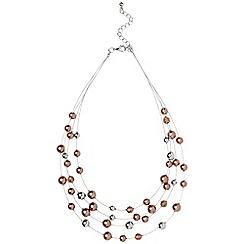 Phase Eight - Blush bridget illusion necklace