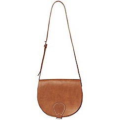 Phase Eight - Tara large leather saddle bag