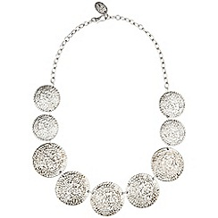 Phase Eight - Silver nancy discs necklace