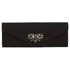 Phase Eight - Anna suede jewel clutch