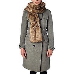 Phase Eight - Beatrix faux fur collar
