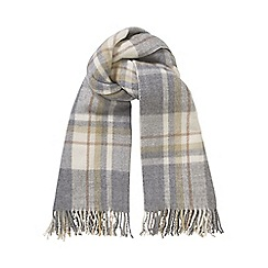 Phase Eight - Pale Grey gigi tartan scarf
