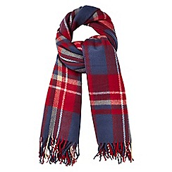 Phase Eight - Navy gigi tartan scarf