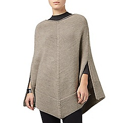 Phase Eight - Mink lydia knitted poncho