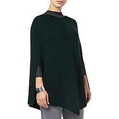 Phase Eight - Forest lydia knitted poncho