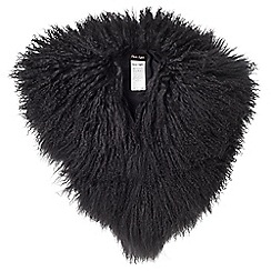 Phase Eight - Hatty mongolian fur collar
