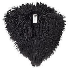 Phase Eight - Hatty mongolian fur collar