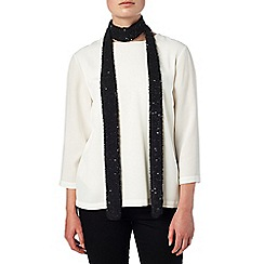 Phase Eight - Holly skinny sequin scarf