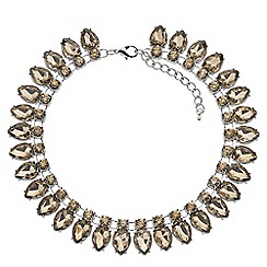 Phase Eight - Champagne charlotte crystal necklace