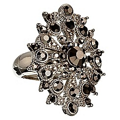 Phase Eight - Pewter tatiana cocktail ring