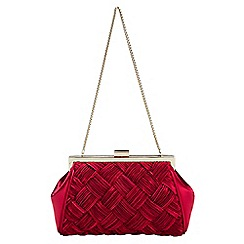Phase Eight - Alexie Pleated Satin Bag