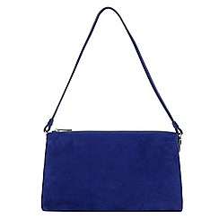 Phase Eight - Rosie Suede Clutch Bag