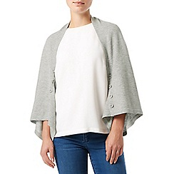 Phase Eight - Grey Marl melody button wrap