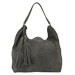 Phase Eight - Harper Suede Hobo Bag