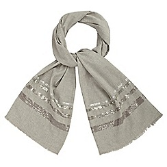 Phase Eight - Josie Sequin Stripe Scarf