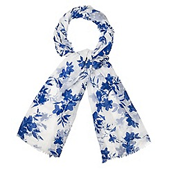 Phase Eight - Delft Print Scarf