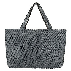 Phase Eight - Reversible Weave Tote Bag