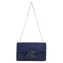 Phase Eight - Petal Suede Clutch Bag