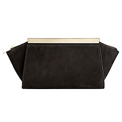 Phase Eight - Ella Suede Clutch Bag