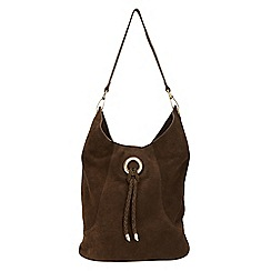 Phase Eight - Sapphia Suede Bag