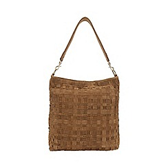 Phase Eight - Weave Suede Tote