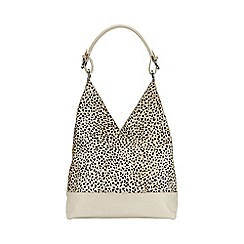 Phase Eight - Animal Print Leather Tote
