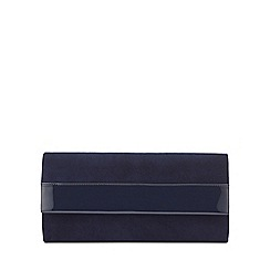 Phase Eight - Ruby Leather Clutch