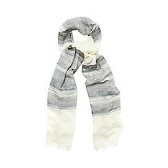 Phase Eight - Stripe Cotton Scarf