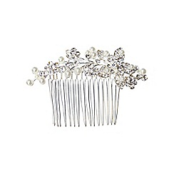 Phase Eight - Silver Isla Crystal Comb